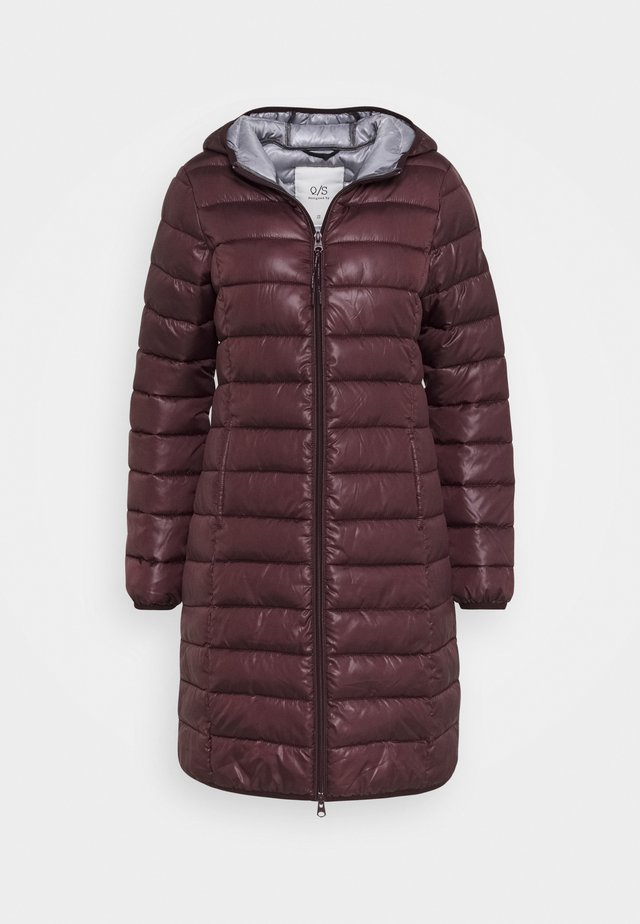 OUTDOOR - Cappotto invernale - dark ruby