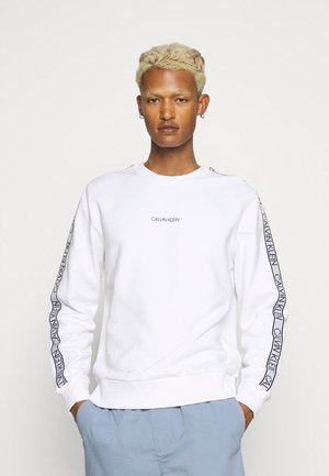 ESSENTIAL LOGO TAPE  - Sweatshirt - bright white