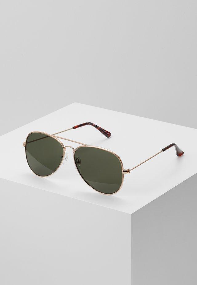 CORE AVIATOR - Sunglasses - gold-coloured