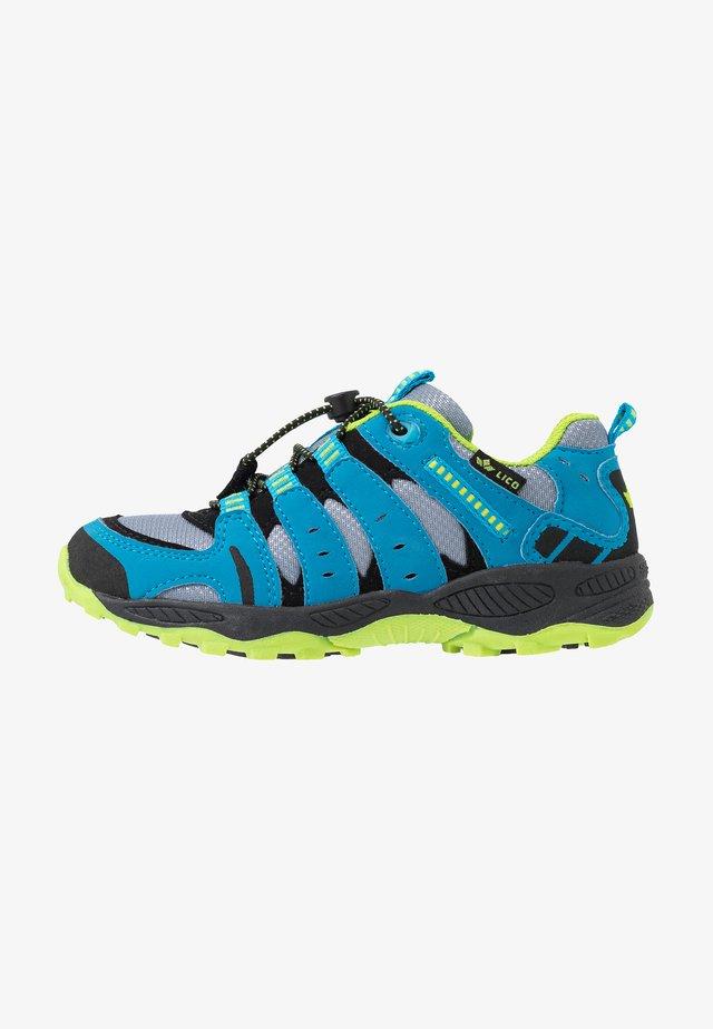 FREMONT - Sneakers laag - grau/blau/lemon