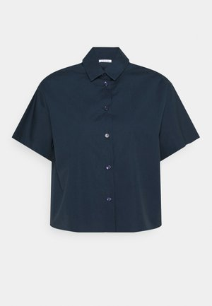 KURZARM - Button-down blouse - navy