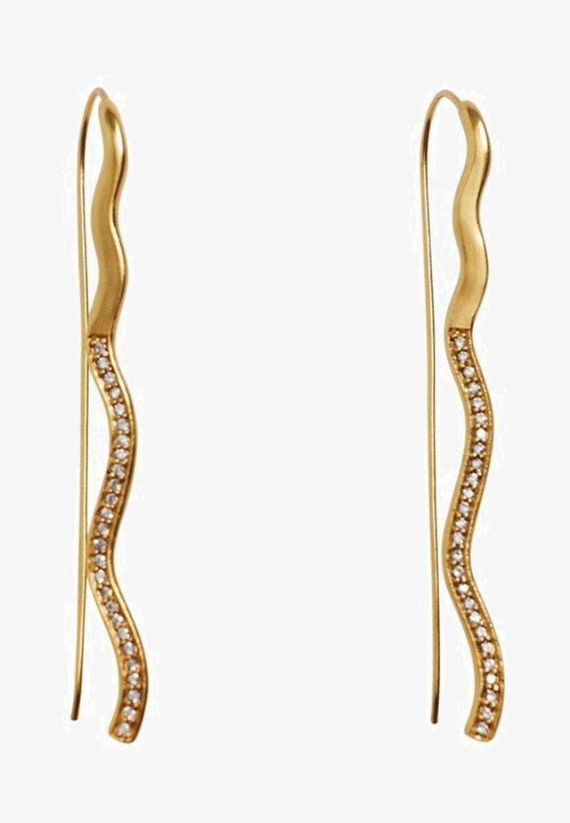 GALINA - Earrings - gold