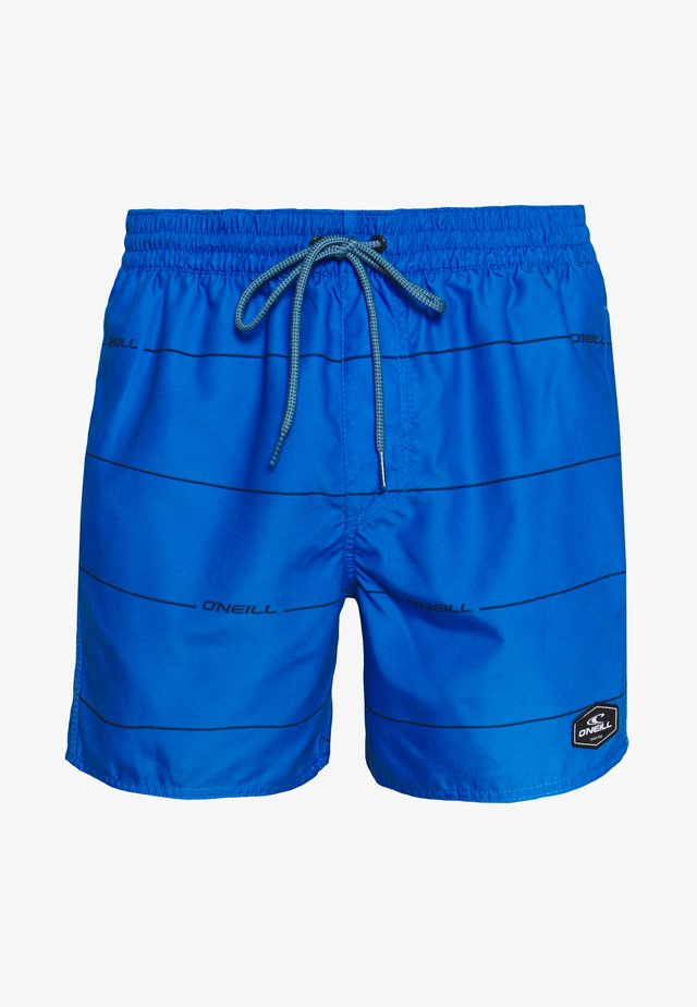 CONTOURZ - Swimming shorts - blue