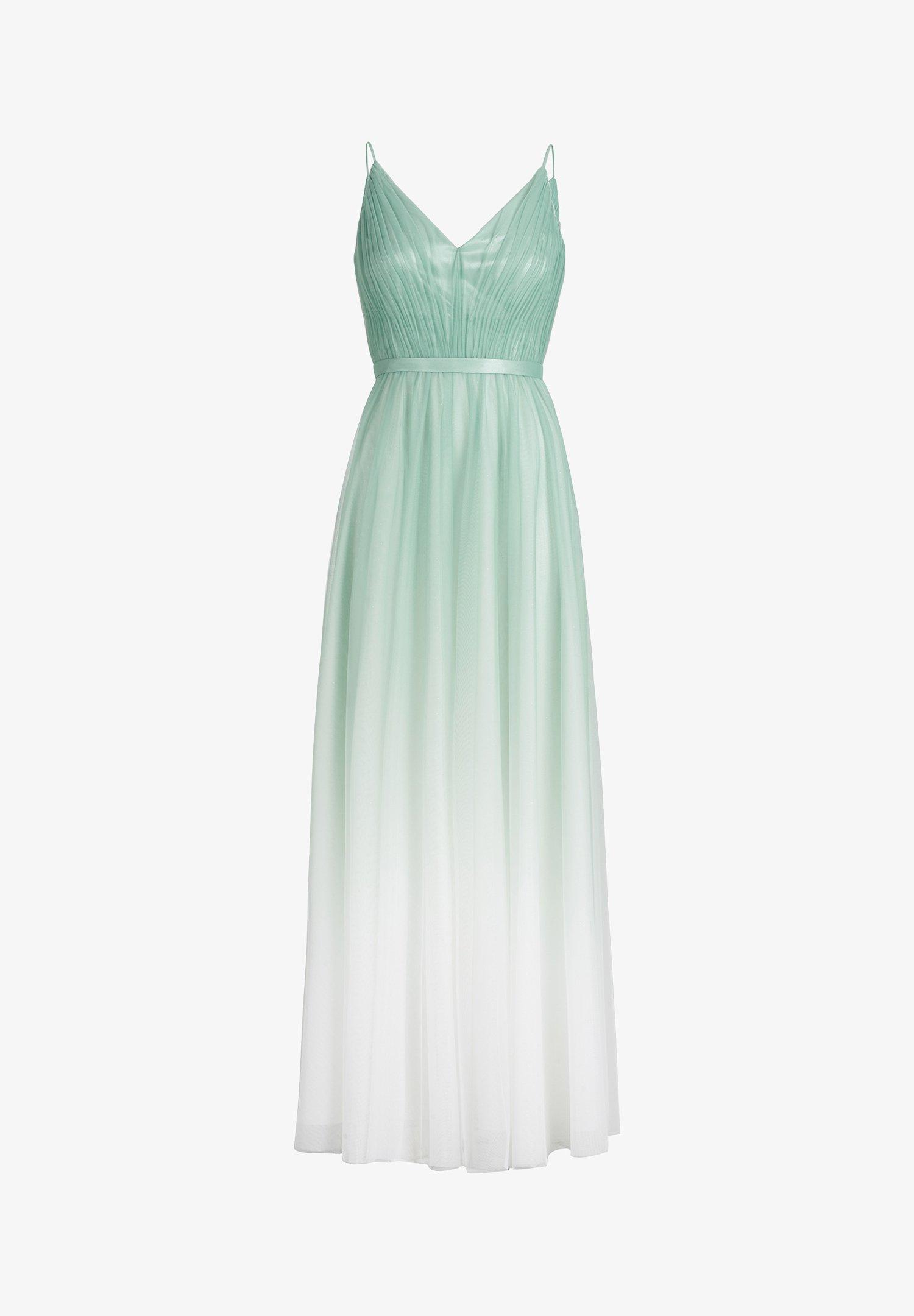 MIT FARBVERLAUF - Cocktailkleid/festliches Kleid - mint/white