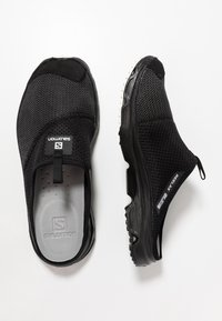 Salomon - RX SLIDE 4.0 - Walking sandals - black/ebony/white - 1