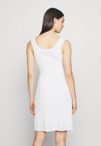 M Missoni - SLEEVES DRESS - Jumper dress - white - 2
