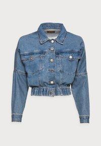 ONLY Petite - ONLRAVE LIFE JACKET - Kurtka jeansowa - medium blue denim - 3