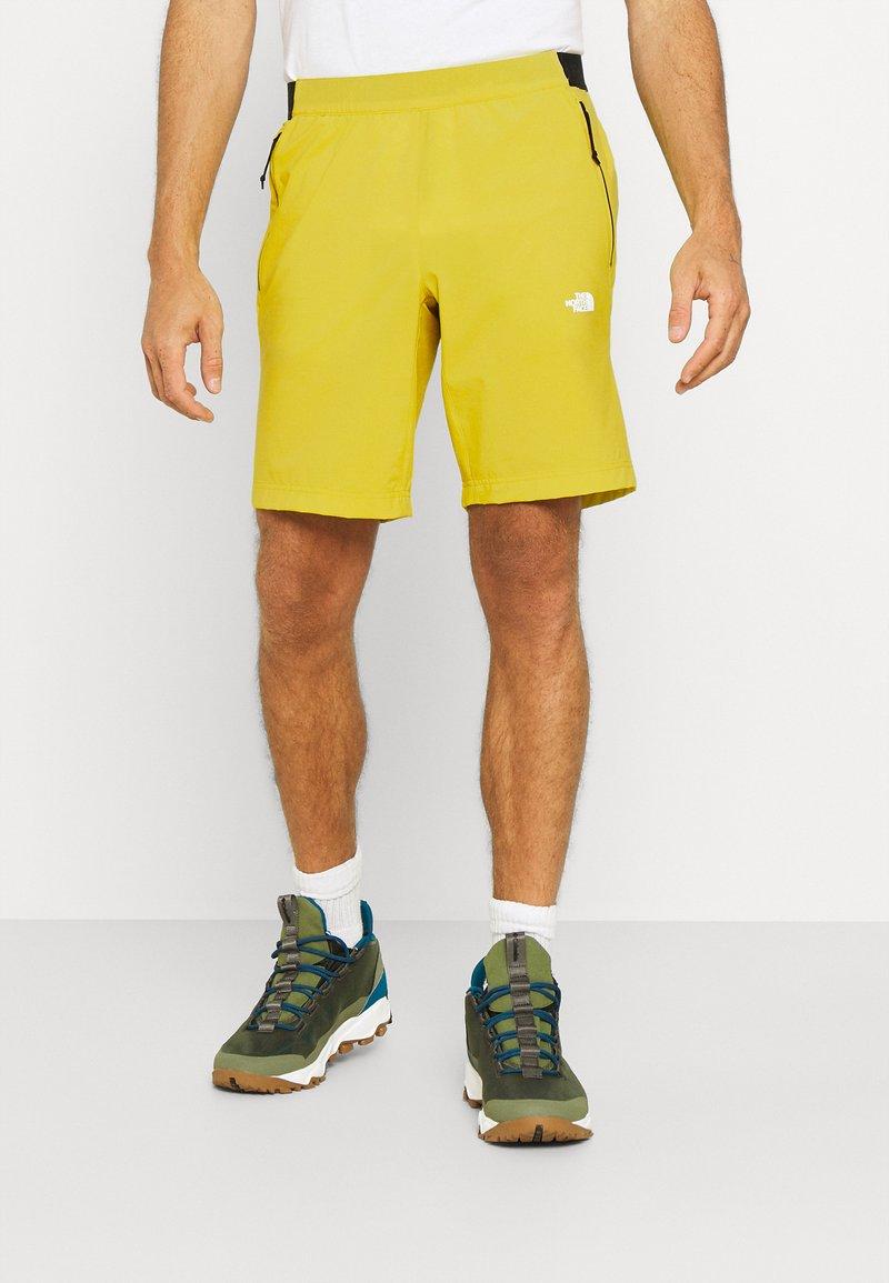 The North Face - GLACIER SHORT - Träningsshorts - citronellegreen