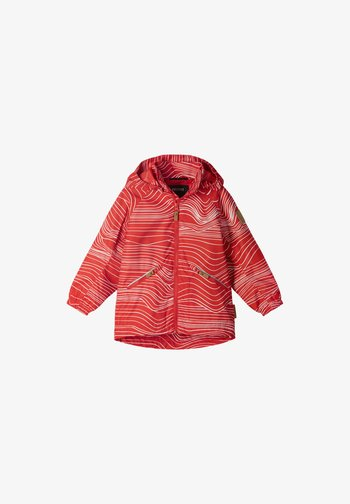 FINBO - Outdoor jacket - tomato red