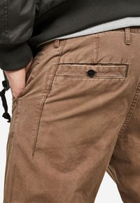 G-Star - BRONSON STRAIGHT TAPERED - Chino kalhoty - oak - 2