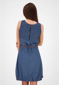 alife & kickin - Denim dress - dark denim - 2