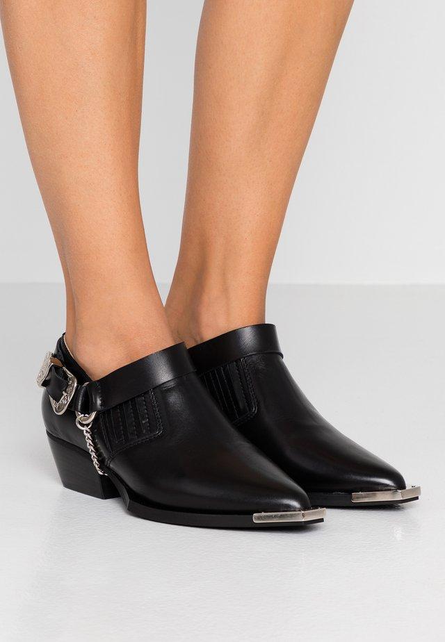 LOTUS - Boots à talons - black