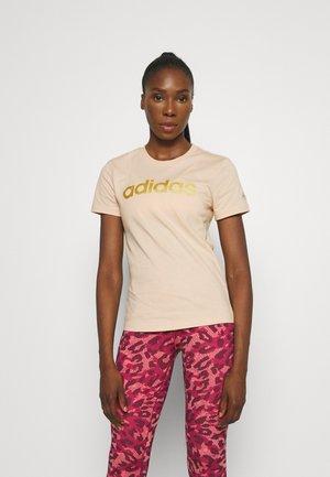 Print T-shirt - halo blush