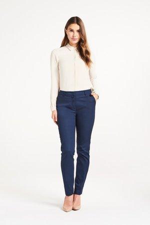 LARA  - Trousers - navy