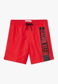 Calvin Klein Swimwear - MEDIUM DRAWSTRING INTENSE POWER - Badeshorts - red - 0