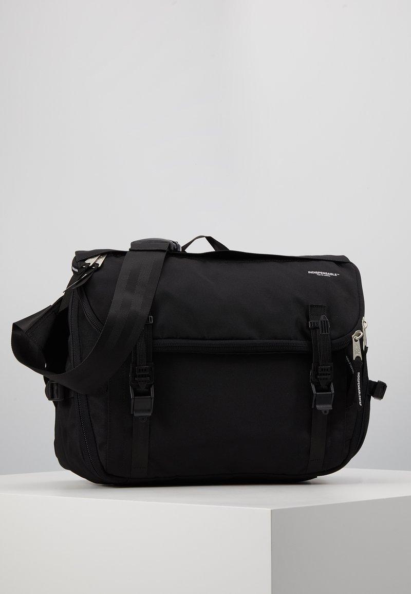 Indispensable - SHOULDERBAG FLIP - Laptoptas - black
