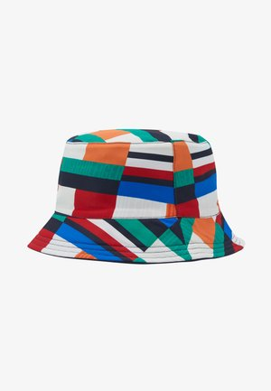 FLAG PRINT BUCKET - Kapelusz - blue