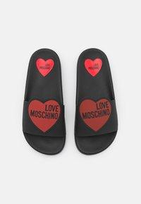 Love Moschino - Pantofle - nero - 4