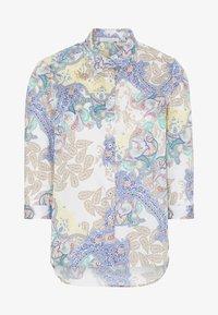 Eterna - MODERN CLASSIC - Button-down blouse - yellow/blue - 3