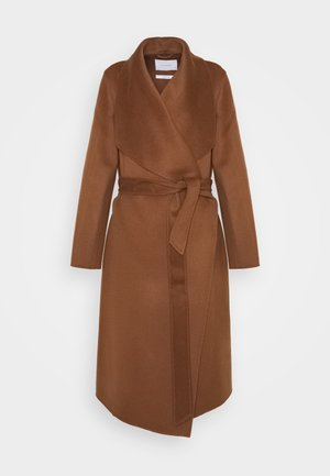 BATHROBE COAT - Zimní kabát - brown