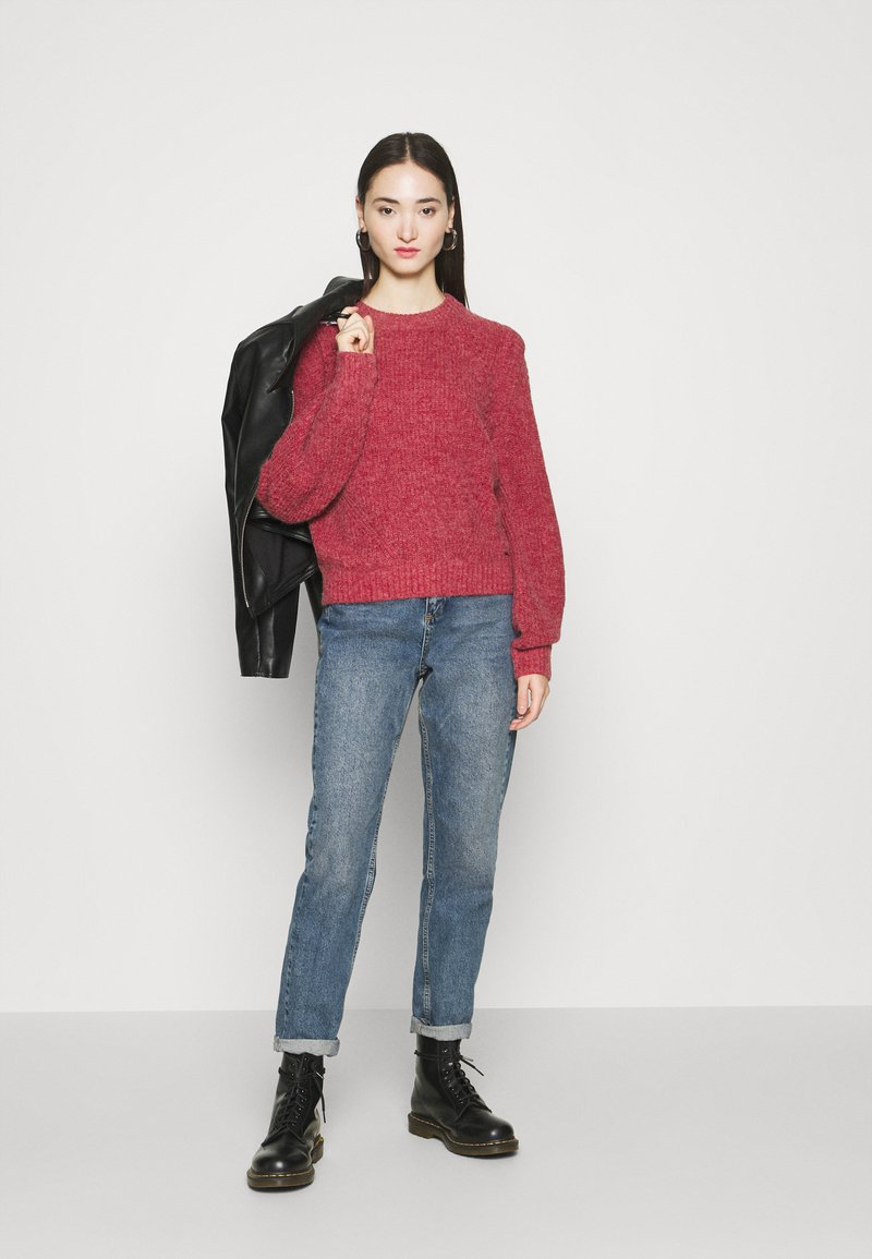 Pepe Jeans SANDRA - Strickpullover - blood red/rot aH69qH