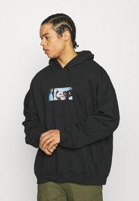 Vintage Supply - SHOOK GREMLINS HOODIE - Sweatshirt - black - 0