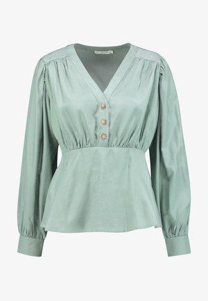 LANA BLOUSE - Bluzka - faded green