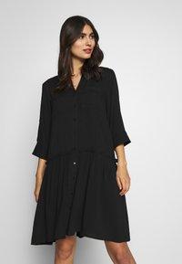 Soyaconcept - RADIA - Shirt dress - black - 0
