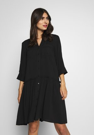 RADIA - Shirt dress - black