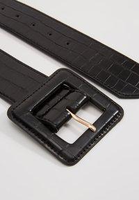 NAF NAF - CROCO - Waist belt - noir - 3