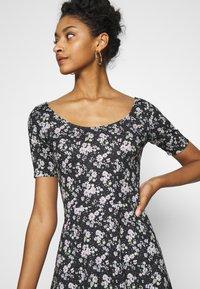 Even&Odd - Day dress - black/multi-coloured - 5