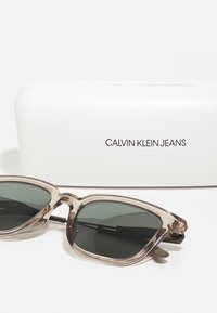 Calvin Klein Jeans - UNISEX - Sunglasses - crystal sand - 2