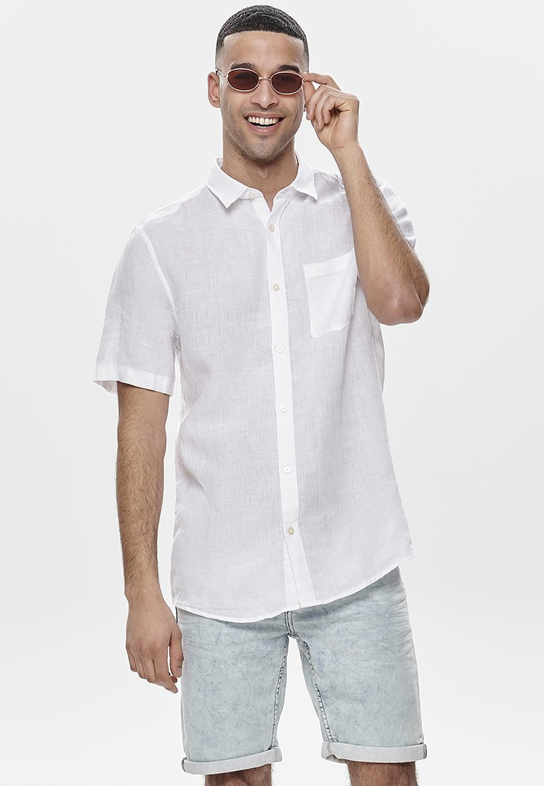 Only & Sons - Shirt - white