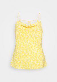 COWEL NECK PRINTED CAMI - Top - yellow