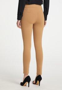 DreiMaster - Leggings - Trousers - beige - 2