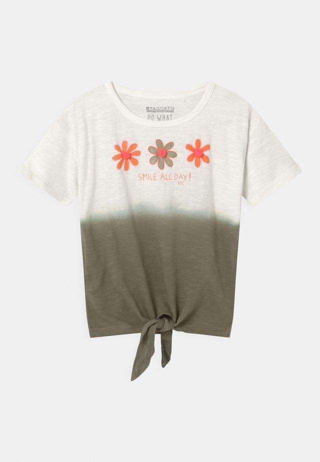 KID - T-shirt print - khaki