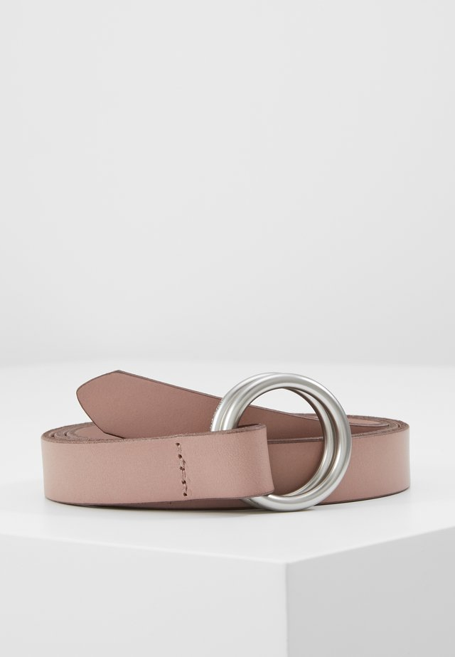 BELT LADIES - Belt - light pink