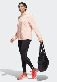 adidas Performance - BELIEVE THIS  -STRIPES MESH LONG LEGGINGS - Medias - black - 1