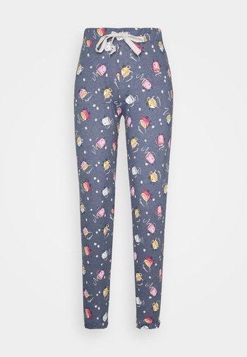 DEAL CUFF PANT - Pyjama bottoms - blue marl