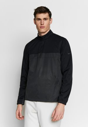 SHIELD VICTORY HALF ZIP - Treningsjakke - black/smoke grey/black