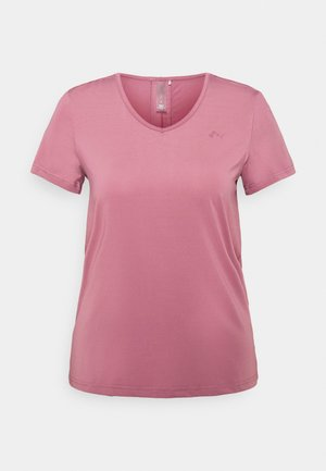 ONPBAKO TRAINING TEE - Camiseta estampada - mesa rose