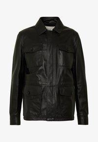 Bally - JACKET - Veste en cuir - black - 5