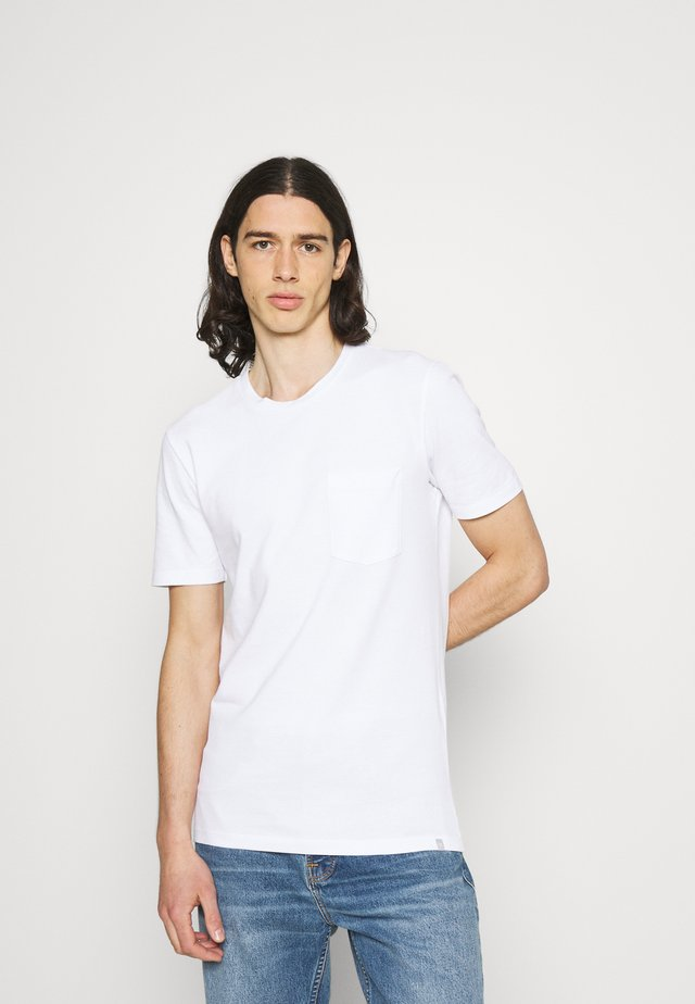 JANN - T-shirt basic - white
