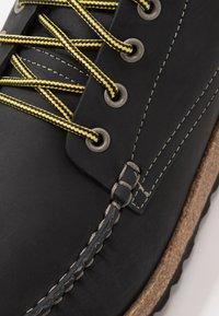 Birkenstock - MARTON - Lace-up ankle boots - black - 5