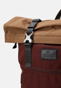 Doughnut - CHRISTOPHERSPACE COLLECTION UNISEX - Rucksack - brown/charcoal - 3