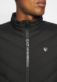 EA7 Emporio Armani - GILET  - Bodywarmer - black - 6