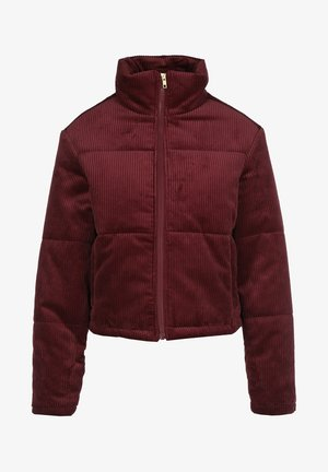 Winter jacket - burgundy