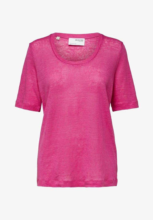 T-shirt basic - rose violet