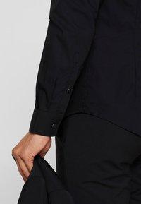 Esprit Collection - SLIM FIT - Formal shirt - black - 3
