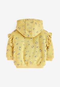 Next - BORG  - Zip-up hoodie - yellow - 1